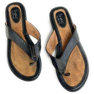 BOC Black Thong Sandal Flip Flops